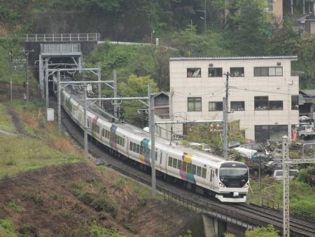E257系特急あずさ 中央本線藤野~上野原01
