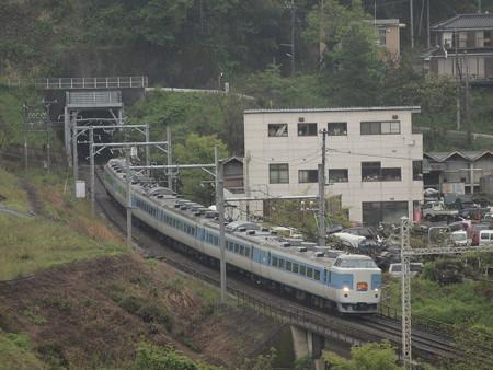 189系ホリデー快速富士山 中央本線藤野~上野原