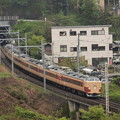 Photos: 189系快速山梨富士 中央本線藤野~上野原02