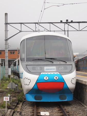 富士急8000系フジサン特急 大月駅