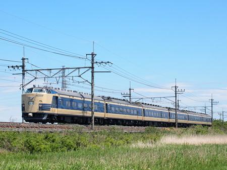 583系ニコニコ超会議号  武蔵野線東浦和~東川口05
