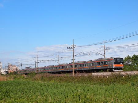 205系普通   武蔵野線東浦和~東川口01