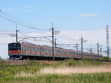 205系普通   武蔵野線東浦和~東川口06