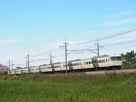185系団臨 武蔵野線東浦和~東川口駅