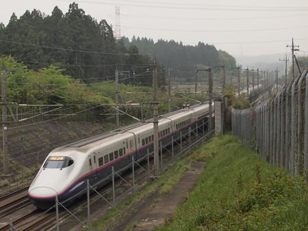 E2系+E3系なすの 東北新幹線那須塩原~宇都宮