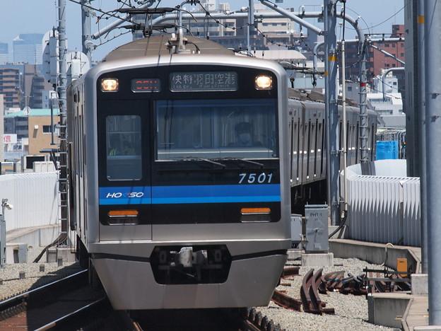 北総7500形エアポート快特 京急本線蒲田駅