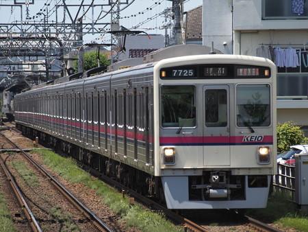 京王7000系準特急 京王線西調布駅01