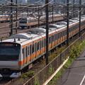 E233系快速 中央本線八王子~豊田