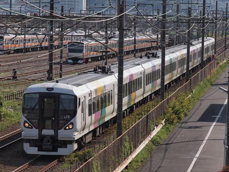 E257系特急かいじ 中央本線八王子~豊田