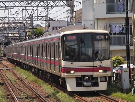 京王8000系特急 京王線西調布駅