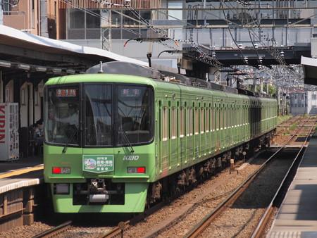 京王8000系淳特急 京王線西調布駅03