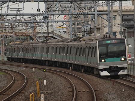 E233系各駅停車 常磐線北松戸駅