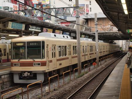 新京成8800形    新京成線松戸駅02