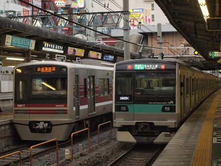 新京成N800形    新京成線松戸駅03