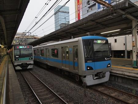小田急4000各停 常磐線松戸駅03