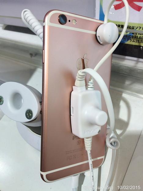 Photos: iPhone 6s~ローズゴールドじゃなくピンクに見える