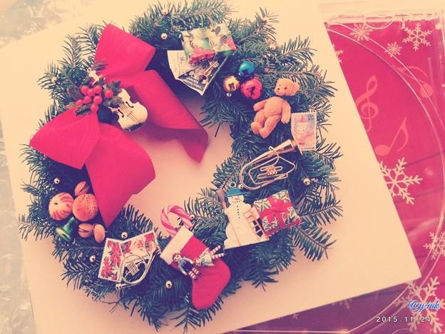 Photos: Xmas wreath ~あと1ヶ月