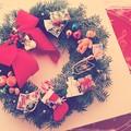 Xmas wreath ~あと1ヶ月