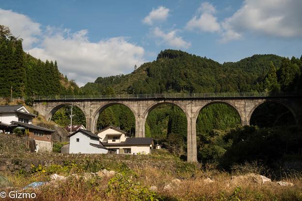 日田彦山線 宝珠山橋梁