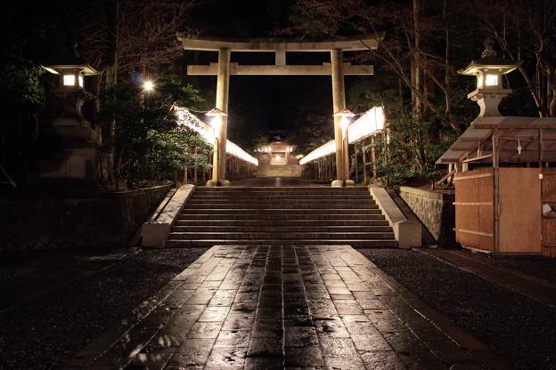 2015年12月30日 弥彦神社 二の鳥居