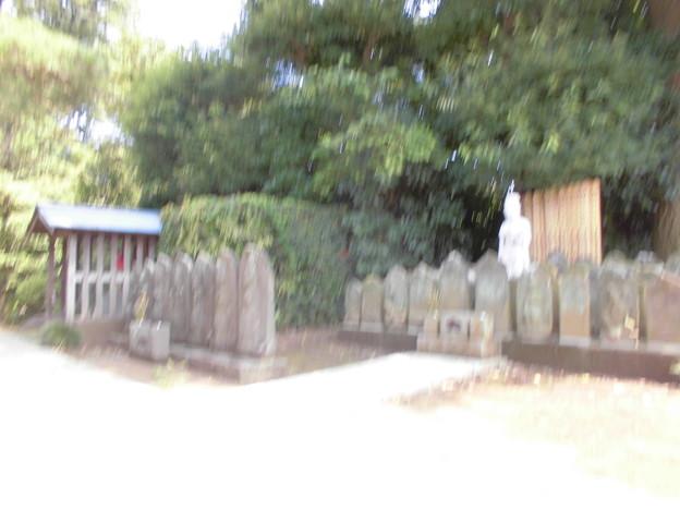 線松原駅~京王線桜上水駅界隈:密蔵院-05c石仏像・地蔵堂