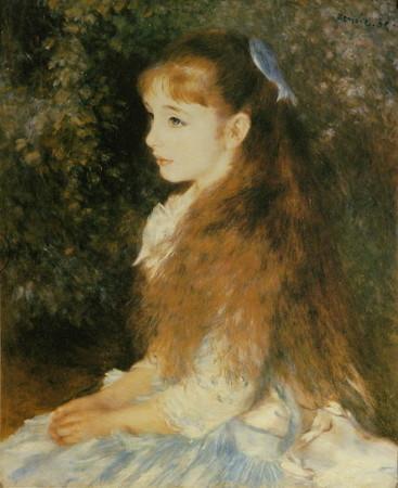 ルノワール「イレーヌ・カーン・ダンヴェルス嬢の肖像」