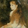 写真: ルノワール「イレーヌ・カーン・ダンヴェルス嬢の肖像」