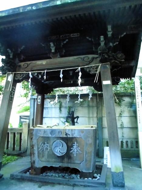 品川駅高輪口界隈_高山(稲荷)神社-03手水舎