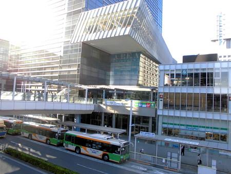 品川駅港南口-02バス停a