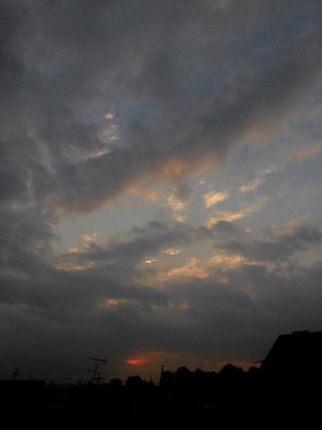 Photos: 夜明け・sora_2015.10.30.-01a