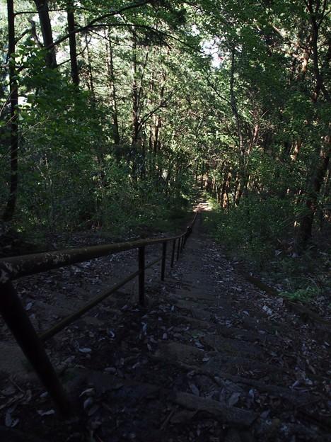 187段の石段