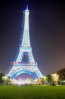 エッフェル塔のオシャレな画像
