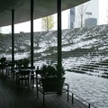 写真: 寒風オープンカフェ01