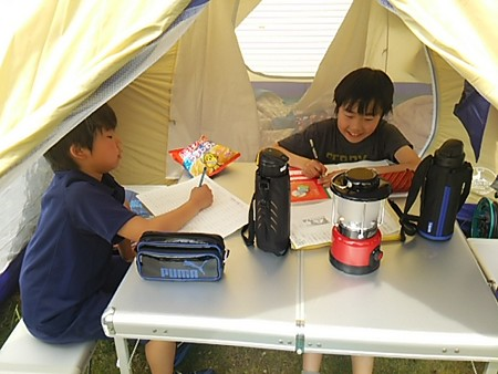庭キャンプ3