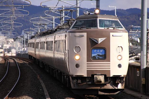 特急 たんば3号・まいづる5号 福知山・東舞鶴行き