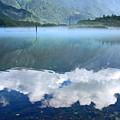 夏の大正池