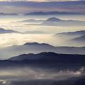 写真: 山並み