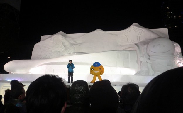 第67回さっぽろ雪まつり 8丁目雪のHTB広場.2 (1024x631)