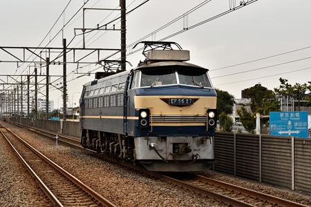 EF66 27 単2873レ