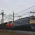 EF65-501+DD51-842+旧客
