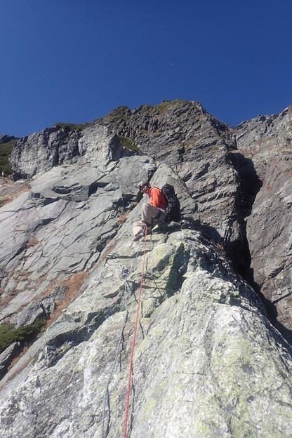 北岳第四尾根登攀?