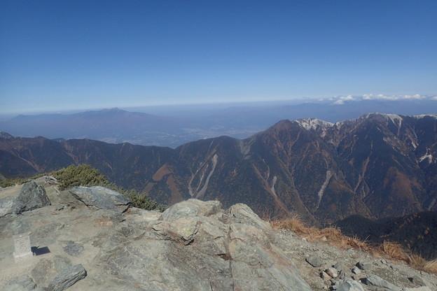 北岳第四尾根登攀(29)