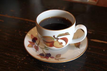折角なのでコーヒーを・・・