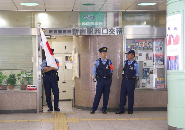 新宿駅西口交番前