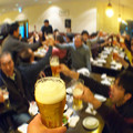 写真: 新年会&定演決起集会の乾杯