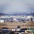 写真: 川越工業団地方面