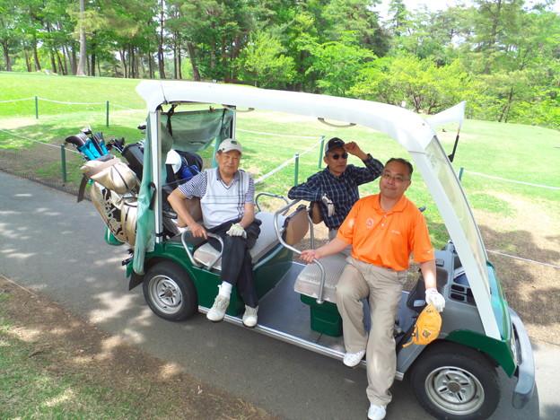 4月25日ゴルフ