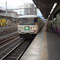 Photos: 185系はまかいじ号(甲府駅)