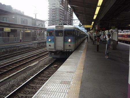 115系(甲府駅)