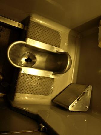 SL奥利根号のトイレ